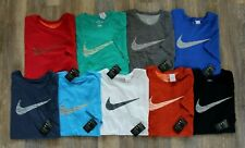 NWT NIKE Big & Tall Dri-Fit Crewneck Swoosh T-Shirt MANY COLORS!  SIZES!