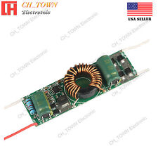 8-12x1W DC12V 24V to DC3-38V 900mA Constant Current LED Driver Power Supply USA