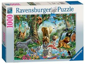 Adventures In the Jungle Puzzle, 1000 Piece - Ravensburger Free Shipping!