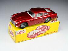 SOLIDO - 130 - Aston Martin DB5 - Rare modèle Export Rouge métal - En boite