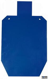 3/4 Size IPSC Hardox 500 Steel Plate Shooting Target with Stand