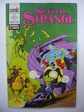 SEMIC MARVEL COMICS SPECIAL STRANGE N° 71 NOVEMBRE 1990 TRES BON ETAT