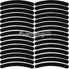 50 PCS Black Curve Nail Art Sanding Files Buffing Block Grit Tools Set #100 #180