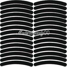 50 PCS Black Curve Nail Art Sanding Files Buffing Block Grit Tools Set #100 #180