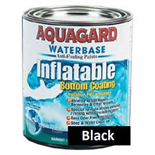 Aquagard Waterbase Inflatabe Boat Anti Fouling Bottom Paint Quart Black