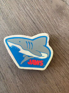 E24 Vintage 80s 90s Erasers Rubbers -  Very Rare Vintage Jaws Erasers-Shark Film