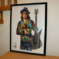 Synyster Gates Avenged Sevenfold Nightmare Guitar Poster Print Wall Art 18x24