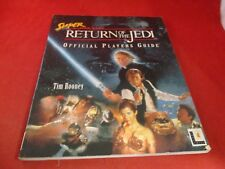 Star Wars Return of the Jedi Super Nintendo SNES Strategy Guide Player's Book