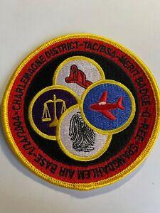 TAC Transatlantic Council BSA Charlemagne District Spangdahlem Air Base patch