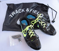 New listing Nike Rival S 7 Track And Field Spikes Running Sprint Shoes Key & Bag 10.5