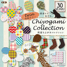 """120 Sheets (30 Design) Japanese 6"""" Origami Artwork Folding Paper Washi Chiyogami"""