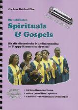 Harmonica-juego cuaderno sin notas: spirituals & gospels-para Bluesharp