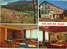 Alte Ansichtskarte Postkarte Hotel Bay. Hof Rimbach 1971 farbig