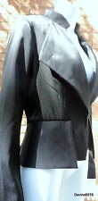 black tuxedo style jacket 12 party full circle NEW with tags