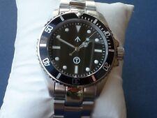 Military Submariner, 316L stainless,Ronda 715Li Swiss movement,10 ATM