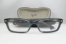 Ray-Ban RB 5206 5515 Clear Black New Authentic Eyeglasses 54mm w/Case