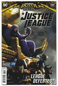 Justice League #57 2020 Unread Liam Sharp Main Cover DC Comic Book Death Metal