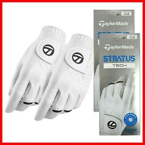 2021 Taylormade Men's Stratus Tech Golf Gloves (Pack of 2) / 2-3 DAY SHIPPING!