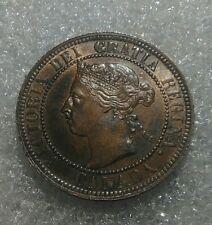 """1 Cent Canada 1901 """"Victoria"""" UNC"""