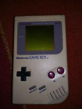 Nintendo Game Boy Weiß Handheld-Spielekonsole Classic inklusive Spielen Flash Te