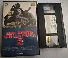 VHS - NON APRITE QUELLA PORTA PARTE 2 di Tobe Hooper [WARNER BROS]