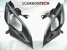 06 07 2006-2007 SUZUKI GSXR GSX R 600 750 CARBON FIBER RAM AIR INTAKE COVERS