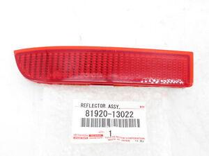 Genuine OEM Toyota 81920-13022 Driver Rear Bumper Reflector 06-12 RAV4 08-14 xD