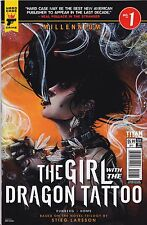 MILLENNIUM GIRL WITH THE DRAGON TATTOO (2017) #1 - Cover C - New Bagged