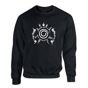 9 Tail Seal Sweatshirt Kurama Minato Konoha Ninja UNISEX Anime Pullover Sweater