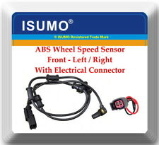 1x ABS Wheel Speed Sensor W/Connector Front Left or Right Fits Ram 2500 3500 RWD