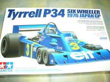 Tamiya 1/20 Tyrell P34 1976 Japan GP F1 Formula One Car Model Kit #20058