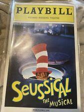 Seussical The Musical Broadway Playbill