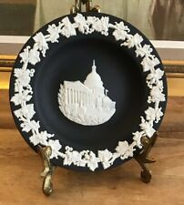 New listing Wedgwood Black Jasperware Us Capitol Trinket Dish