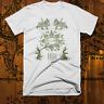 Muay Thai T-shirt Brazilian Jiu Jitsu Cage Match Thai Boxing Sak Yant Tattoo Tee