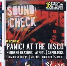 PANIC AT THE DISCO / HUNDRED REASONS / ATREYU -  ROCK SOUND CD no. 83 2006