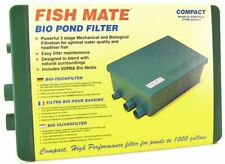 LM Fish Mate Compact bio Pond Filter Max Pond 1,000 Gallons - 500 GPH