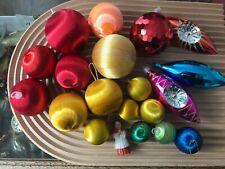 VINTAGE Retro Assorted Christmas Baubles