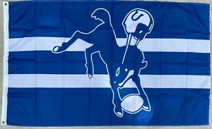Indianapolis Colts (Baltimore) Flag 3'X5' Free Shipping From N.C.