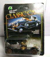 CLASSIC CARS DIECAST VINTAGE CAR - GREY - SEALED BLISTER PACK