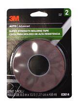 3M 03614 Scotch-Mount 1/2 Inch x 15 ft Molding Attachment Tape
