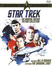 Star Trek: Original Motion Picture Collection (Blu-ray, 2016, 6-Disc set) w/slip