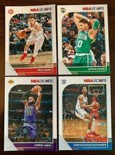 2019-20 Panini NBA Hoops Basketball Cards Complete Your Set (You Pick 1-294)