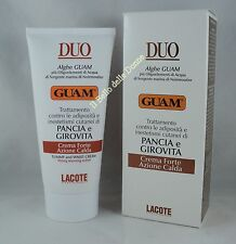 GUAM DUO Creme starke Bauch und Taillenumfang Aktion warm and Taille 150 ml