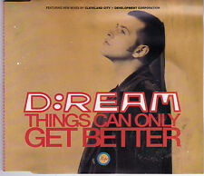 MAXI CD SINGLE 6T D: REAM THINGS CAN ONLY GET BETTER DE 1993 GERMANY