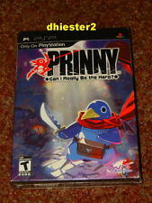 PRINNY CAN I REALLY BE THE HERO PSP PREMIUM EDITION CD COVER SOUNDTRACK COMIC