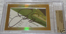 Jack Nicklaus Phil Mickelson 2013 Leaf Masterpiece Cut Signature 1/1 PSA/DNA BGS