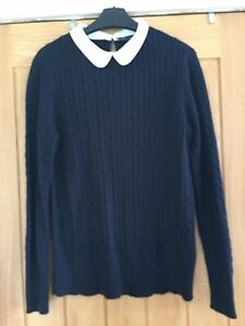 Ladies Jumper. Size 14. With Peter Pan Collar. Dorothy Perkins. Ex Cond