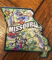 Michigan The Great Lakes State Artwood Jumbo Fridge Magnet