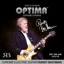 OPTIMA CHROME RANDY BACHMAN .009-.048 E-Gitarren Saiten