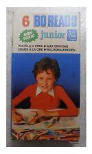 6 pastelli a cera vintage Boreado junior